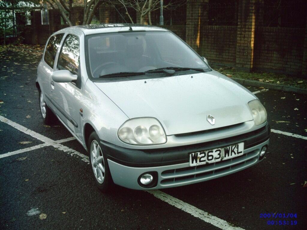 Renault clio 1.9 diesel 3 door hatchback *LONG MOT**DIESEL*