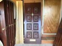 Selection of solid internal doors
