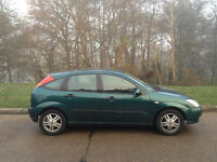 FORD FOCUS 1.6 AUTOMATIC 2002 FULL YEARS MOT-ALLOY WHEELS AIR CON CD PLAYER -WE CAN DELIVER TO YOU
