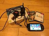 Playstation Vita Slim + 16gb card + Final Fantasy X + Lego Hobbit
