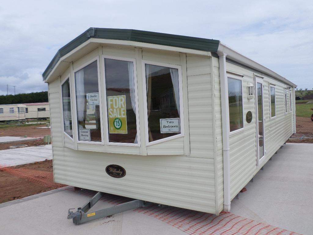Fantastic Cheap Static Caravan For Sale In Scotland Large Decking Sited Maryport