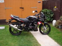 LOVELY STYLISH CBT LEARNER READY 2016 LEXMOTO 125-23 ...ONLY 4155 MILES - MAY SWAP FOR CLASSIC BIKE