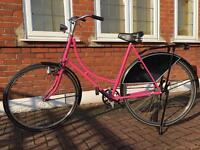 Pink Women's/Ladies Fixie/Dutch Bike £140ono