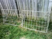 Hay Racks to feed horses.