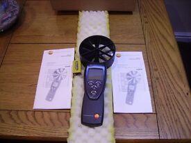 anomometer testo 417