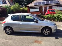 PEUGEOT 206 GOOD CONDITION, RELIABLE- LOOKING FOR SALE AS GOING OUT OF COUNTRY