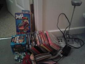Kids and adults dvds/various other toys/jigsaws