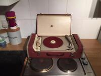 1950s ACEC Suitcase Record Player