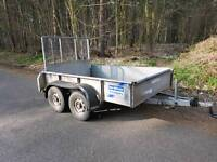 Ifor Williams plant trailer