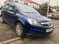 2006 VAUXHALL ZAFIRA 1.6 (7SEATER),ONE OWNER,MOT DEC.2018,ALLOYS, AIR-CONDITIONING,RELIABLE CAR