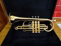 For sale : Elkhart Series 300 Brass Cornet