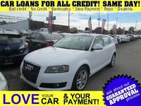 2009 Audi A3 2.0T * LEATHER * PWR ROOF * HTD PWR SEATS