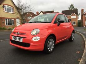 Fiat 500....2016 plate only 10000 miles!