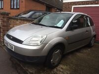 Ford Fiesta 1.2 2005 3 Door hatchback