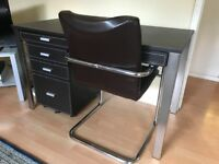 Desk, chair and cabinet from John Lewis - 'Chicago' Desk Set