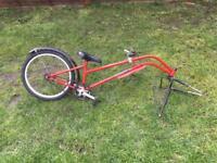 Trailer bike tagalong