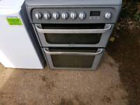 HOTPOINT 60CM ELECTRIC DOUBLE COOKER FREE NN DELIVERY/FITTING