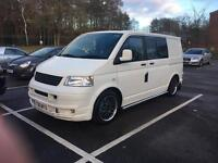 VW T5 day van 1.9 TDI, remapped, twin sliding doors, I would consider a swop. Audi A3/A5/Golf/BMW
