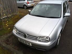 VW Golf v5 2001