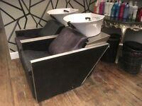 Two Backwash salon units