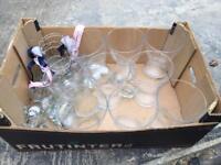 Event / Wedding vase and tea lights