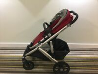 Uppa baby vista buggy -red