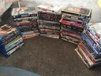 Over 80 DVD and blu ray