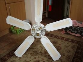 FANTASIA CEILING FAN WITH LIGHTS