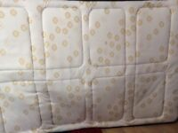 this is a double bed in excellent condition including matteress