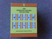 The Sherlock Holmes Collection. Set of ten books in a slipcase.