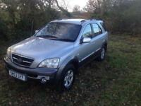Kia Sorento 2.5 diesel only 91k!!!! no advisories on mot!!!!!