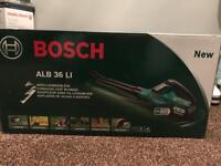BRAND NEW Bosch ALB 36 LI Cordless Leaf Blower With 36 V Lithium-Ion Battery