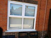 Large living room upvc plastic window
