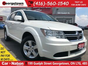 2016 Dodge Journey SE Plus | 7 PASS |  B/U CAM | 3 ZONE A/C