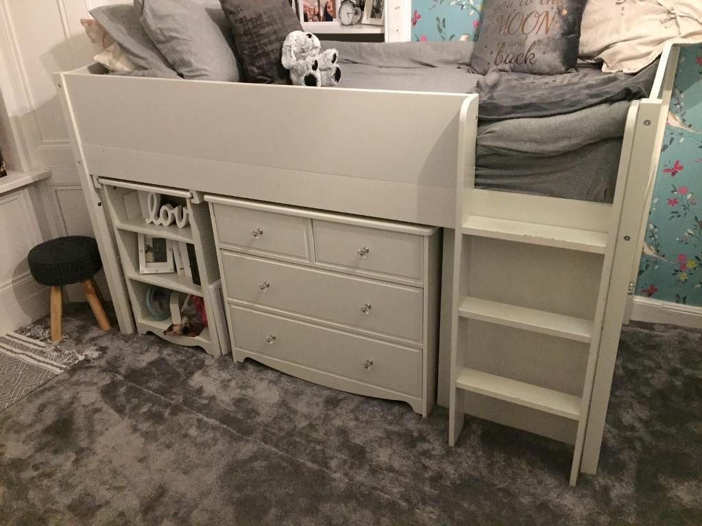 Next White Cabin Bed