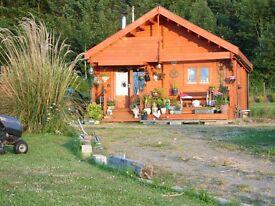 Beautiful log cabin for rent