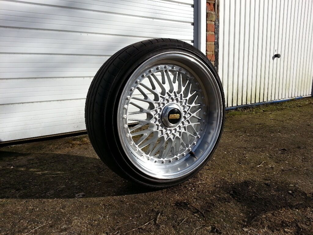 19 inch Bmw BBS DARE RS Alloy Wheels and Tyres e36 e46