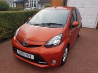 Toyota Aygo 1.0 VVT-i Fire 5dr 2013 14000 low miles £0 road tax