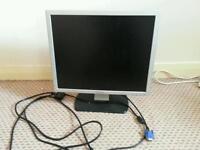 "Dell LCD monitor 15"""