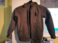 100% genuine Stone Island grey soft shell jacket age 6 immaculate condition