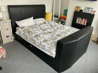HABITAT - King Size TV bed Frame (collection only - mattress not included)