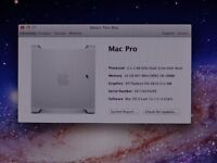 UPGRADED Apple Mac Pro G5 1,1 / XEON QUAD CORE / 16GB RAM / HD 4870 / 320GB HDD