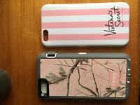 Iphone 6 cases Victoria's Secret and otterbox