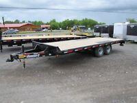 2014 Diamond C 20ft Equipment Trailer