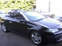 RENAULT MEGANE 1-5 DCi DYNAMIQUE S TURBO DIESEL CONVERTIBLE 2007, VERY ATTRACTIVE.