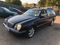 Mercedes E220 CDI 2148cc Turbo Diesel Automatic 5 door Estate 52 Plate 01/01/2003 Blue