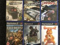 PlayStation 2 games x6