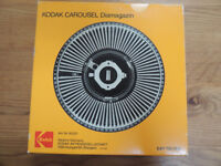 Vintage Kodak Carousel For Slide Projector Holds 80 Slides With Box