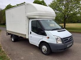 2009 Ford Transit Twin Wheel Luton van with tailift