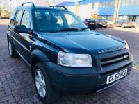 **LAND ROVER FREELANDER, RECENTLY FULLY SERVICED*LEATHER INTERIOR* ONE YEAR MOt**